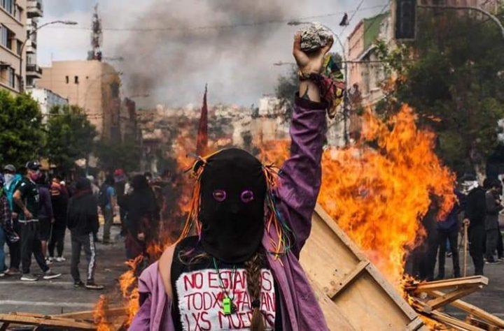 Comunicado del Círculo Anarcofeminista Ni Amas Ni Esclavas sobre la revuelta en la región chilena