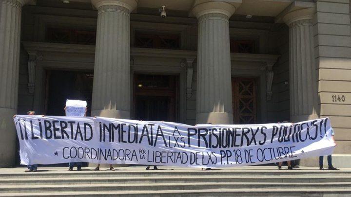 ¡Libertad a las presas y presos de la revuelta!